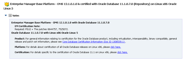 Install Oracle Enterprise Manager (OEM) Cloud Control 12c on OEL 6.1 (4/6)