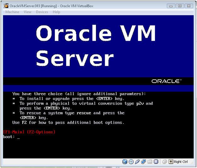 Oracle Virtualization – Installing Oracle VM Server 3.1.1, Oracle VM Manager 3.1.1 and Deploying Oracle RAC 11gR2 (11.2.0.3) Oracle VM templates Linux x86 64 bit for test configuration (1/6)